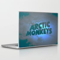 arctic monkeys Laptop & iPad Skins featuring Arctic Monkeys by SLIDE
