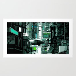 cybercore Art Print