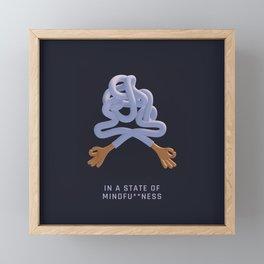 Mindfu**ness Framed Mini Art Print