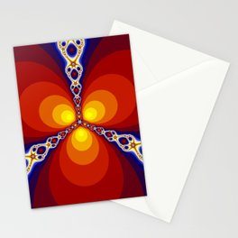 Magic Fractal Stationery Cards