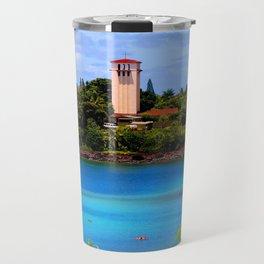 Beautiful Waimea Bay Travel Mug
