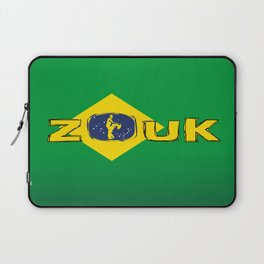 colors of brazil - lets dance brazilian zouk Laptop Sleeve