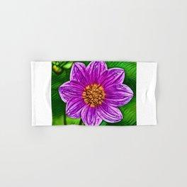 Garden Cosmos Dream   Painting  Hand & Bath Towel