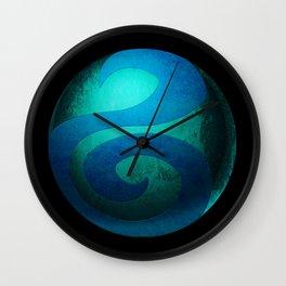 Design-22 Blue Wall Clock