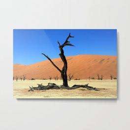 Dead Vlei Tree Metal Print