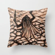 Orixás - Obaluaiê Throw Pillow
