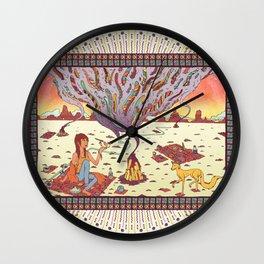 Intangible Quarter. Wall Clock