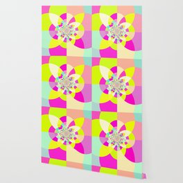 Bright & Pastel Kaleidoscope Wallpaper