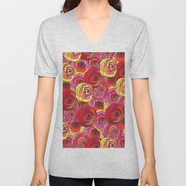 outcast of roses Unisex V-Neck