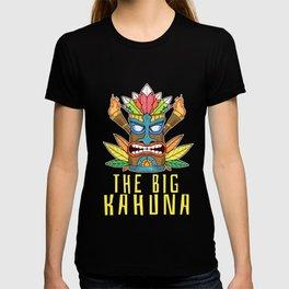 Funny The Big Kahuna Tiki Gift Print Hawaiian Island Product T-shirt