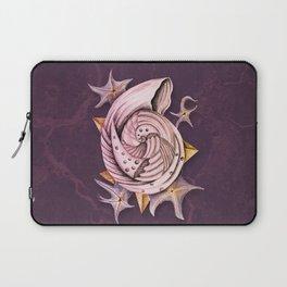 Dystopian Conch - Lavender Laptop Sleeve
