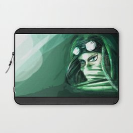 The green punk Laptop Sleeve