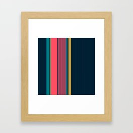 Printable Art, Colorful Lines, Pattern, Modern Art, Minimalist Art, Art Printable, Home Decor Framed Art Print