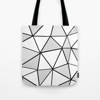 origami Tote Bags featuring origami by themicromentalist
