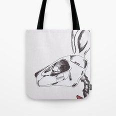 francine the rabbit queen. Tote Bag