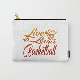 LIVE - LOVE - BASKETBALL Carry-All Pouch