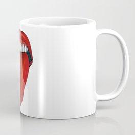 Milaino Zunge mund Coffee Mug
