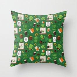 Irish best Throw Pillow