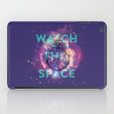 Watch this space iPad Case