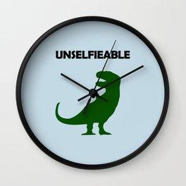 Unselfieable T-Rex Wall Clock