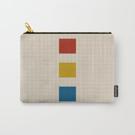 four elements || tweed & primary colors Carry-All Pouch
