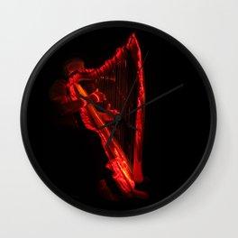 Harp Energy X:  Hot Music Wall Clock