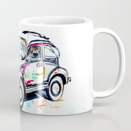 Pug in a Bug Coffee Mug