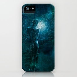 Thinking Angel iPhone Case