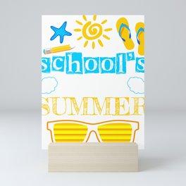 Schools Out For Summer Mini Art Print
