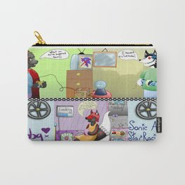 Zooming With Friends Carry-All Pouch