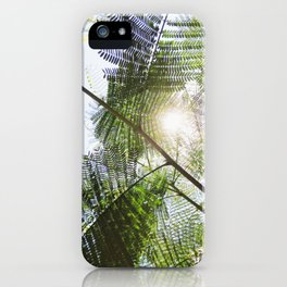 Big Light | Nature Leaves Forest Photo iPhone Case