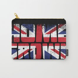 Home Grown British Flag Carry-All Pouch