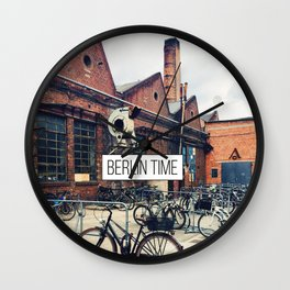 Old Factory  Wall Clock