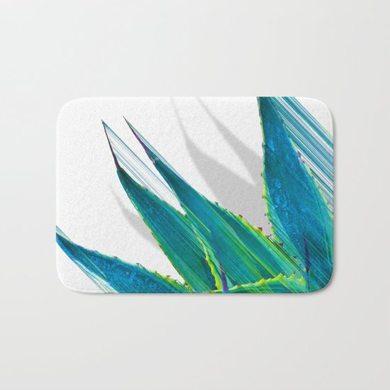 The soaring flight of the agave Bath Mat
