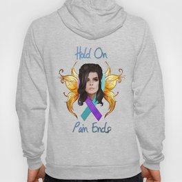 Hold On Pain Ends- Suicide Prevention and Awareness Hoody