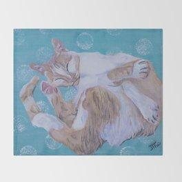 Zen Lily I Throw Blanket