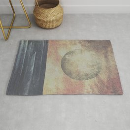 Restless moonchild Rug