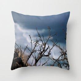 Through the Bramble Throw Pillow