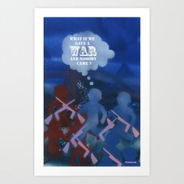Boys and War Art Print