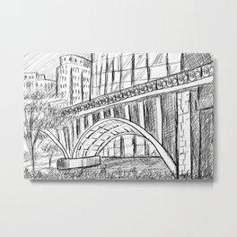 Townscape São Paulo - BR Metal Print