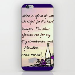 Flawless Dance Moves iPhone Skin