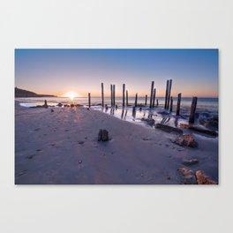 Port Willunga Sunset Canvas Print