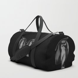 Lean on Me: Figure Drawing Study Duffle Bag
