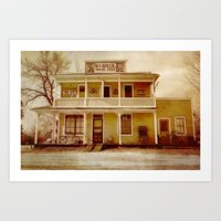 general Art Prints featuring General Store by Dorothy Pinder