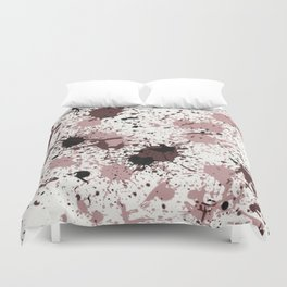Action Painting 63 By Chad Paschke Duvet Cover