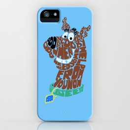 scooby iPhone Case