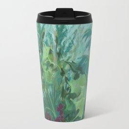 Sonchus and mugwort Travel Mug