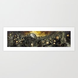3:33 - In The Middle of Infinity (Panorama) Art Print