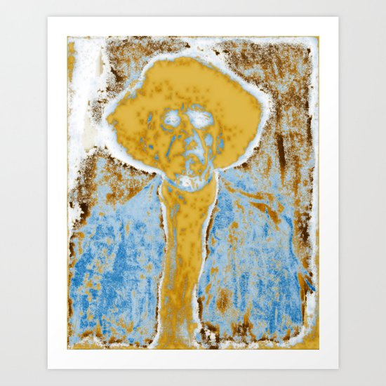 A Ghost Revisited Art Print
