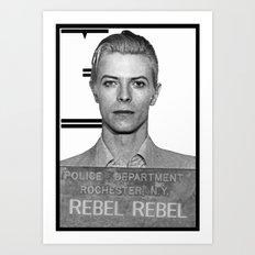 Real Rebel Art Print